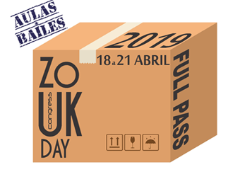 Pacote Full Pass - 18 a 21 de Abril 2019
