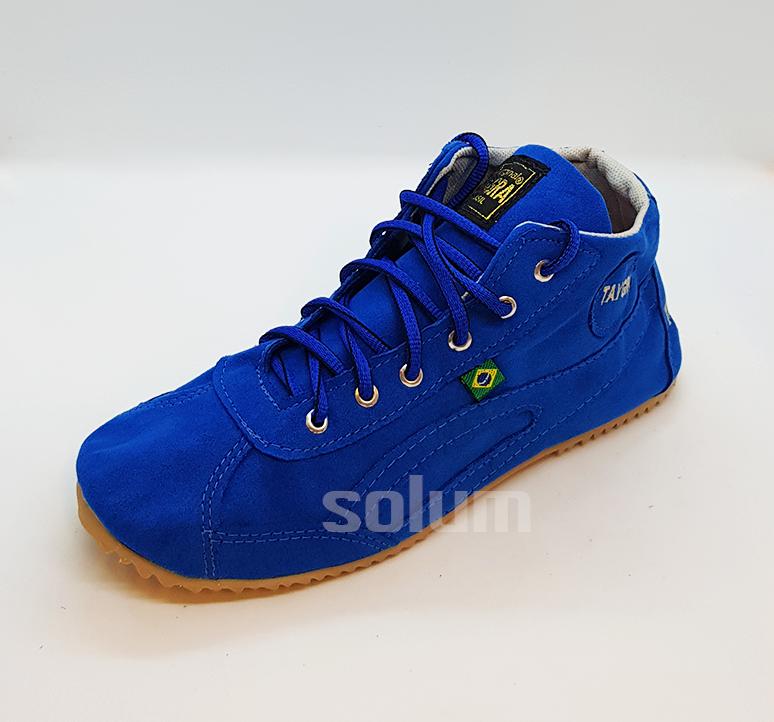 Tênis Botinha Camurça (azul)