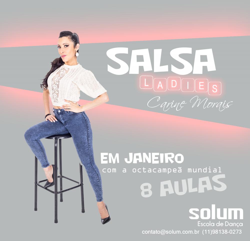 SALSA 8 aulas | Janeiro | Quartas 21h30 (2 x 159,00)