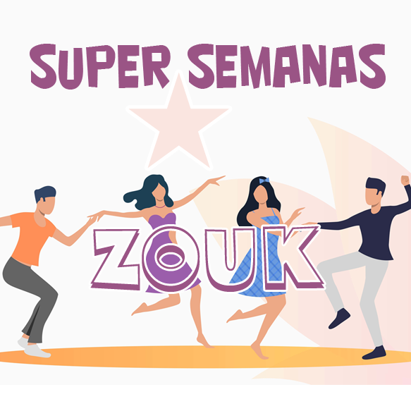 SUPER SEMANAS INTENSIVO - ZOUK INICIANTES (Pacote 18 horas)