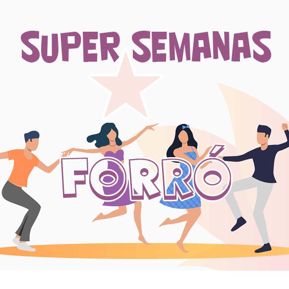 SUPER SEMANAS INTENSIVO - FORRÓ INICIANTES (Pacote 18 horas)